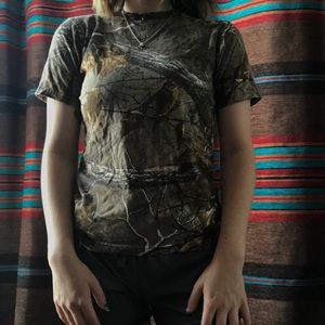 Tops - Camo Shirt